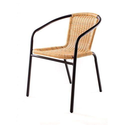 Happy Green stalowe krzesła PE RATAN - 2szt (8591022339251)