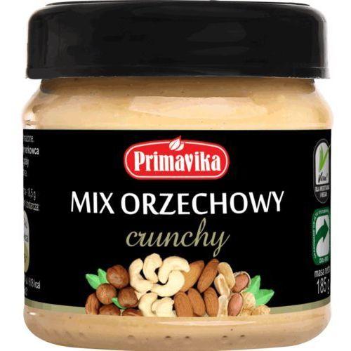 Mix orzechowy crunchy 185g mix maseł marki Primavika