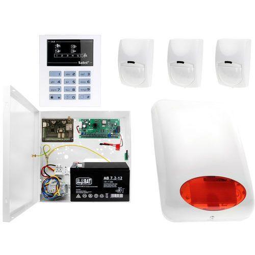 CA-5 KLED-S 3x Czujnik ruchu System alarmowy z GSM, ZA11237
