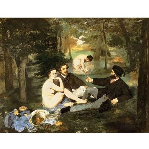 Reprodukcja le déjeuner sur l'herbe (luncheon on the grass) 1863 edouard manet od producenta Deco-strefa – dekoracje w dobrym stylu