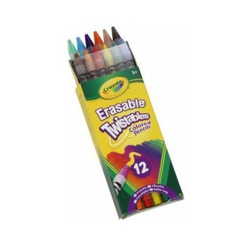 Kredki ołówkowe twistables 12 szt. - darmowa dostawa od 199 zł!!! marki Crayola
