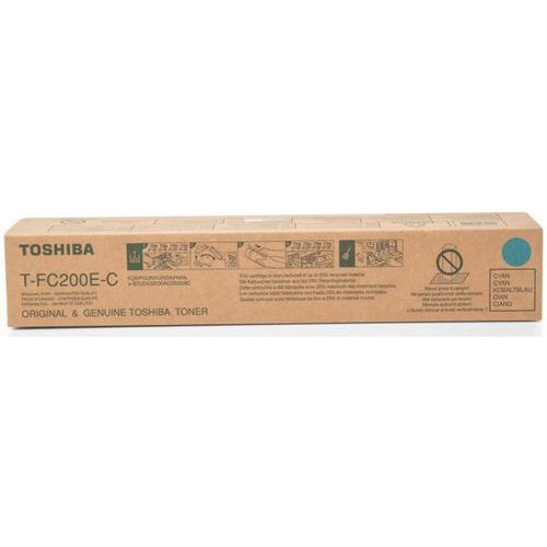 Toner t-fc200e-c cyan do drukarek (oryginalny) [33.6k] marki Toshiba