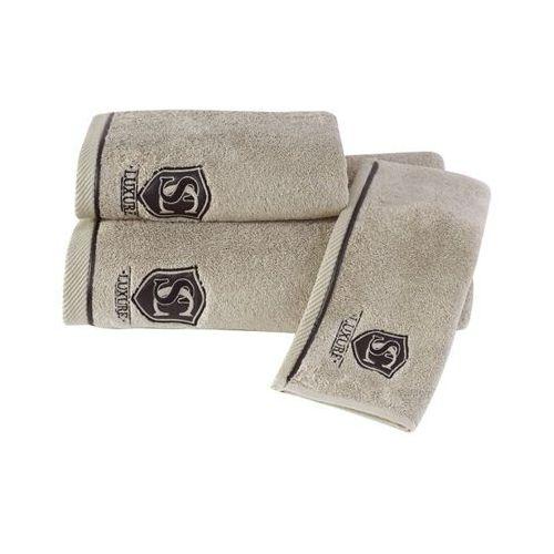 Podarunkowy zestaw ręczników LUXURY Beżowy, 20572_BOX