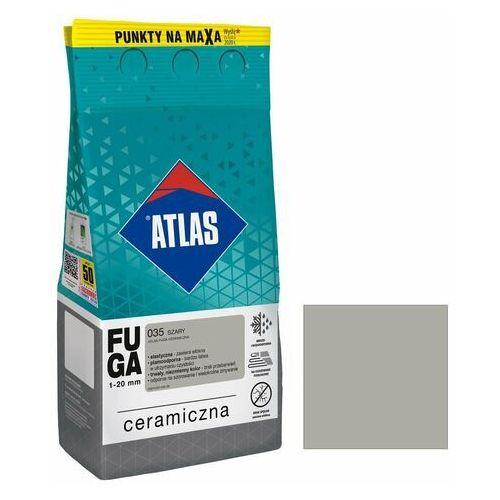 Atlas Fuga ceramiczna 035 szary 5 kg