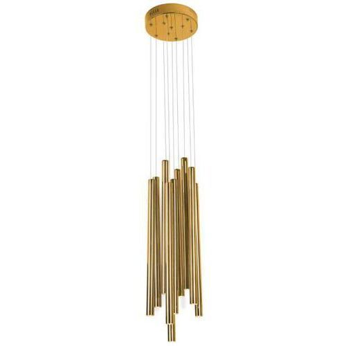 Lampa wisząca organic p0205 metalowa oprawa tuby led 10w zwis sople miedź marki Maxlight