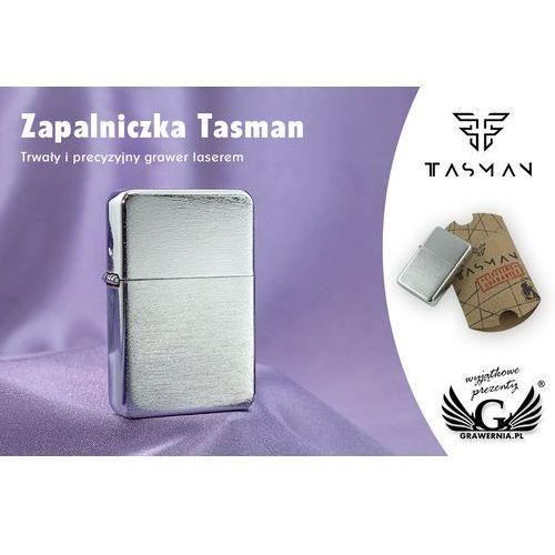 Zapalniczka Tasman Brushed Chrome - produkt z kategorii- Papierośnice i pudełka na cygara