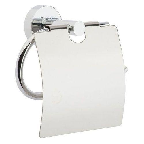 Bisk Uchwyt na papier toaletowy z klapką for you znal chrom