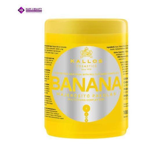 KALLOS Maska Do Włosów Bananowa 1000 ml