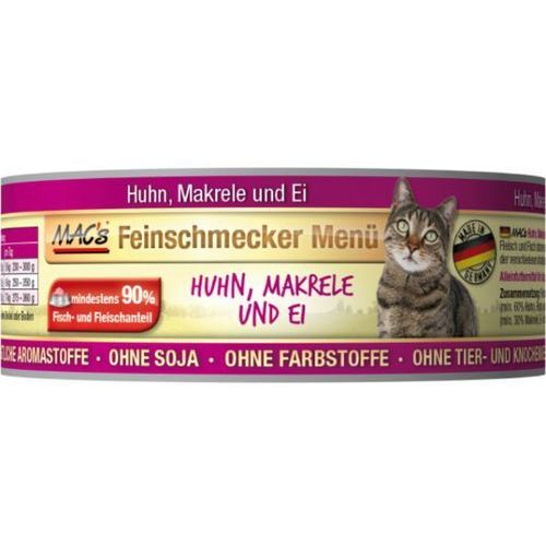 MACs cat kons. wyśmienity KURCZAK / MAKRELA - 6x100g, 2300315