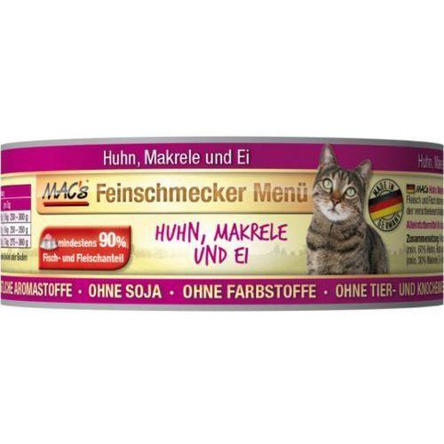 Macs cat kons. wyśmienity kurczak / makrela - 6x100g marki (bez zařazení)