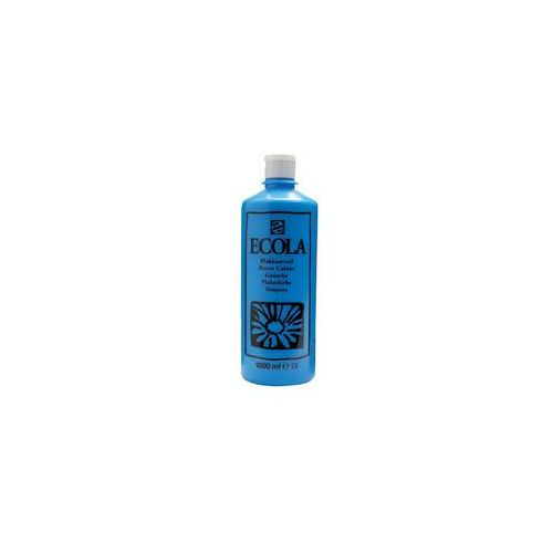 ecola farba tempera gwasz 1l 501 light blue marki Talens