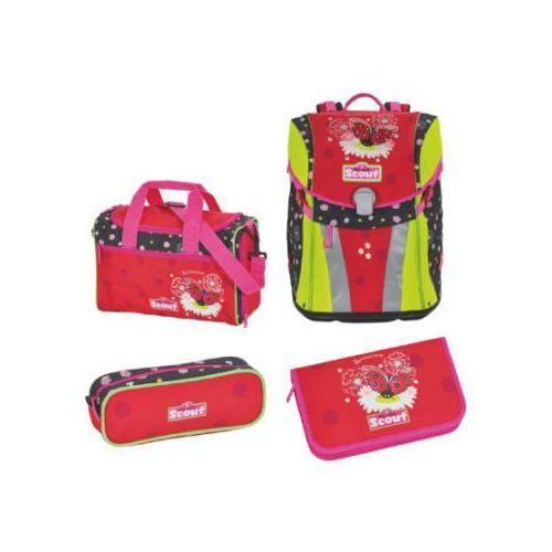 Scout sunny plecak z akcesoriami szkolnymi, 4-częściowy - summertime (4007953404080)