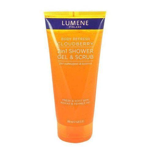 Lumene Body Refresh Cloudberry 2in1 Shower Gel & Scrub 200ml W Żel pod prysznic