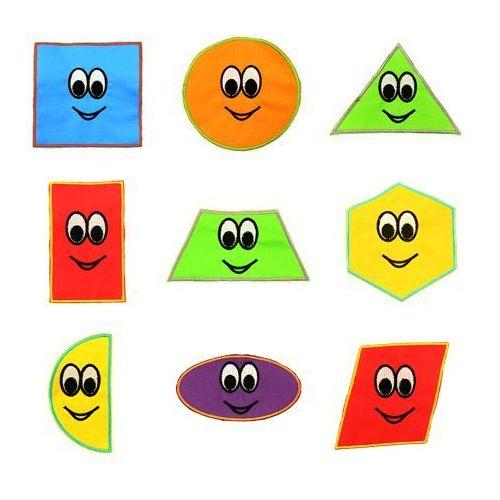 - dodatki do chust animacyjnych - figury geometryczne - 9 szt marki Akson