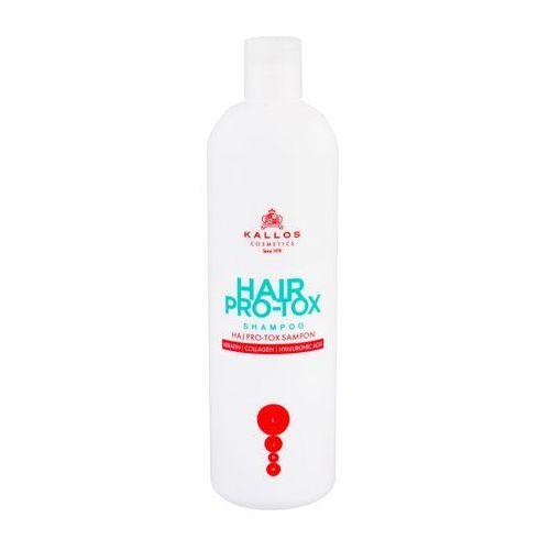 Kallos pro-tox szampon do włosów z keratyną, kolagenem i kwasem hialuronowym 500ml