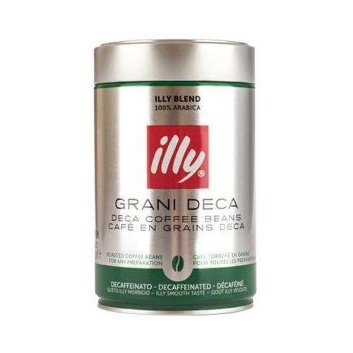 250g grani deca włoska bezkofeinowa kawa ziarnista puszka marki Illy