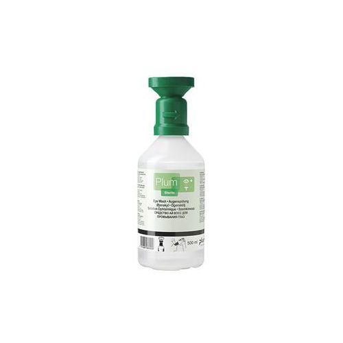Butelka do płukania oczu, ze sterylnym roztworem chlorku sodu, opak. 3x500 ml. p marki Plum
