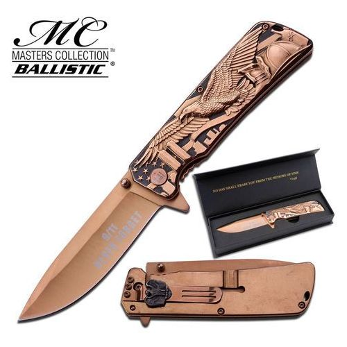Usa Nóż ostrze składane rocznicowy 11 września - mc-a029bz