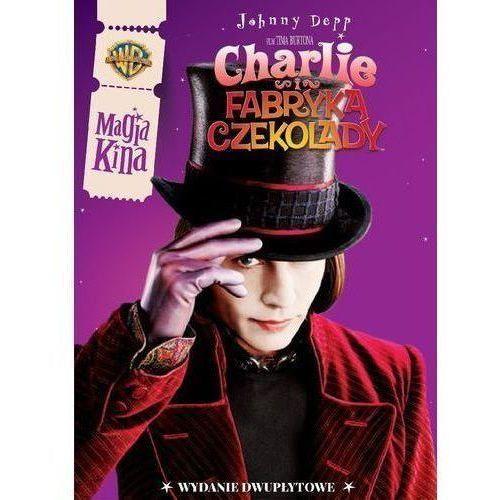 CHARLIE I FABRYKA CZEKOLADY (2DVD) MAGIA KINA