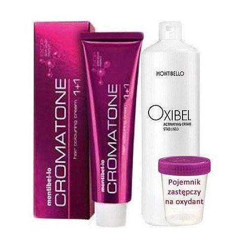 Montibello Cromatone zestaw do koloryzacji włosów farba 60ml + oxydant 60ml 3 ciemny brąz