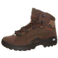 Lowa RENEGADE GTX MID Buty trekkingowe braun/orange, kolor brązowy