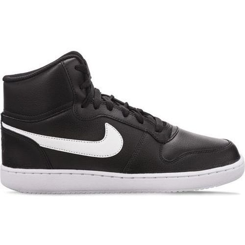 Nike ebernon mid 001 black - buty sneakersy