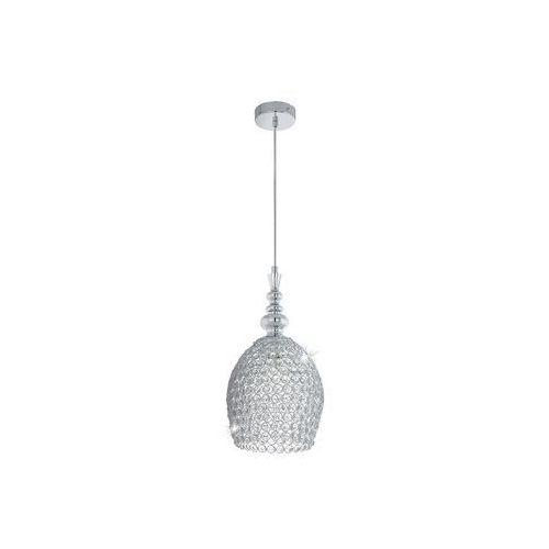 LAMPA wisząca GILLINGHAM 49847 Eglo metalowa OPRAWA z kryształkami IP20 crystal chrom, kup u jednego z partnerów
