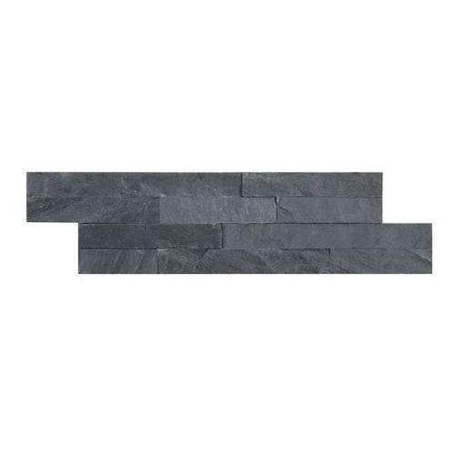 Iryda Kamień naturalny slate 10 x 35 cm black 0,42 m2