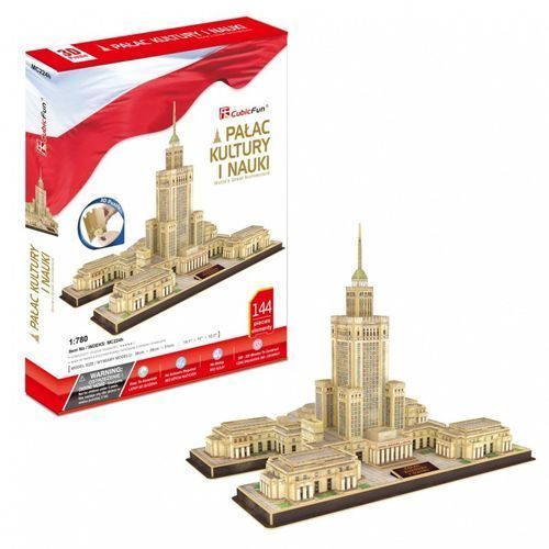 Cubicfun Puzzle 3d pałac kultury i nauki 144