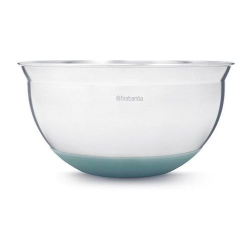 Brabantia - stalowa misa kuchenna 1.6l - miętowa silikonowa podstawa