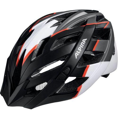 Alpina panoma l.e. kask rowerowy biały/czarny 52-57cm 2018 kaski rowerowe