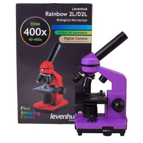 Mikroskop Levenhuk Rainbow 2L Amethyst\Ametyst