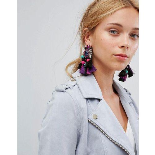 ALDO Woidien Multicoloured Tassel Statement Earrings - Multi