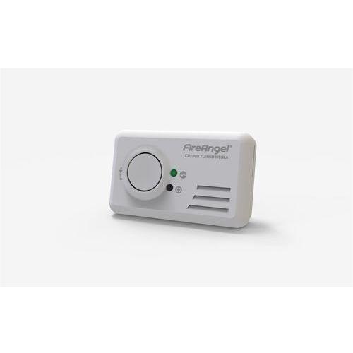 Czujnik tlenku węgla (czadu) FireAngel bateryjny biały CO-9B-PLT (0816317003593)