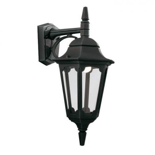 Zewnętrzna LAMPA ścienna PARISH & PARISH MINI PR1 Elstead kinkiet OPRAWA ogrodowa IP44 outdoor czarna, PR1