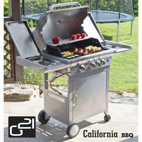 California BBQ grill gazowy 4 palniki G21 Premium line