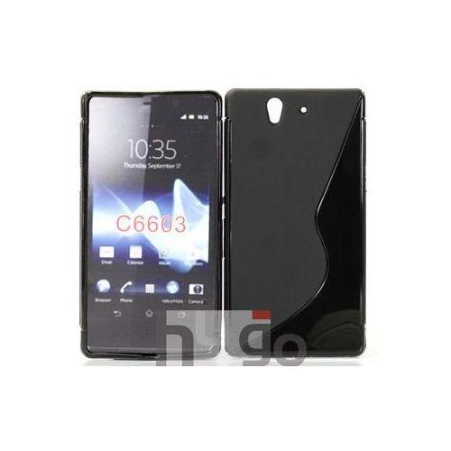 Futerał Back Case S-Line Sony Xperia Z C6603 Czarny, kolor Futerał