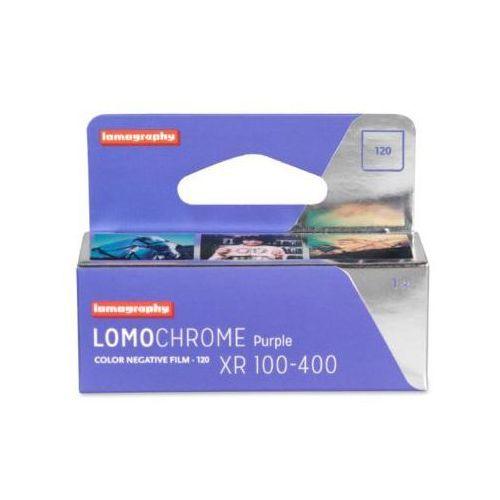 film lomochrome purple film kolorowy typu 120 marki Lomography