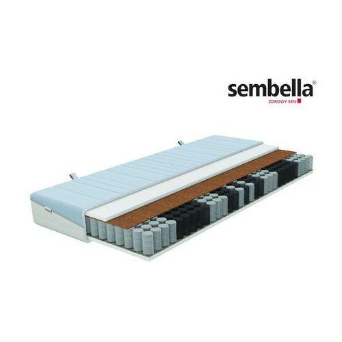 Sembella smart natura – materac kieszeniowy, sprężynowy, rozmiar - 90x200 wyprzedaż, wysyłka gratis