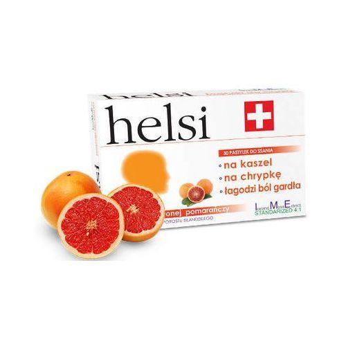 Krotex poland Helsi pastylki do ssania o smaku czerwonej pomarańczy x 30 sztuk