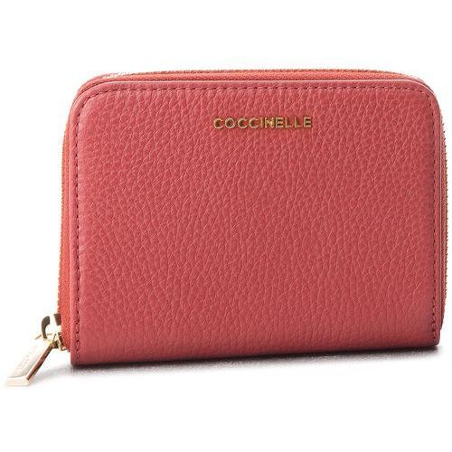 Duży portfel damski - cw5 metallic soft e2 cw5 11 02 01 bourgogne r00 marki Coccinelle
