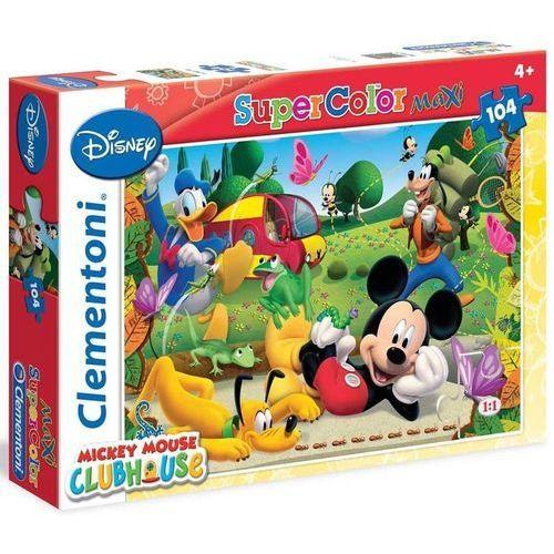 Puzzle 104 elementy. Maxi Klub Przyjaciół Myszki Mickey 2 (8005125239740)
