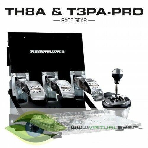Thrustmaster Skrzynia biegów i pedały th8a & t3pa pro do pc/ps4/xbox one