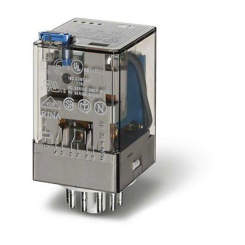 Przekaźnik 3CO 10A 24V DC Finder 60.13.9.024.0040 (8012823050775)