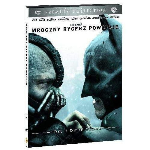 Mroczny Rycerz powstaje (2xDVD), Premium Collection (DVD) - Christopher Nolan (7321908323675)