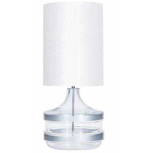 4 Concepts Baden Baden Silver L224281304 lampa stołowa lampka 1x60W E27 biały