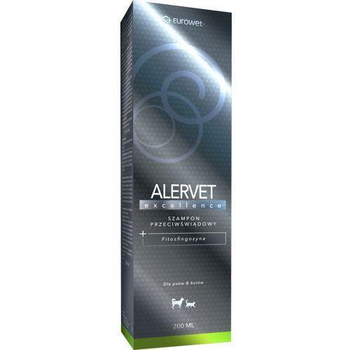 Alervet excellence - szampon przeciwświądowy dla kota i psa 200ml marki Eurowet