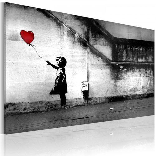 Artgeist Obraz - nadzieja (banksy) (60x40 cm)