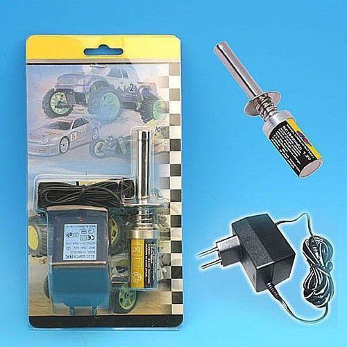 Klips krótki z akumulatorkiem ni-mh 1800mah i ładowarką marki Hsp
