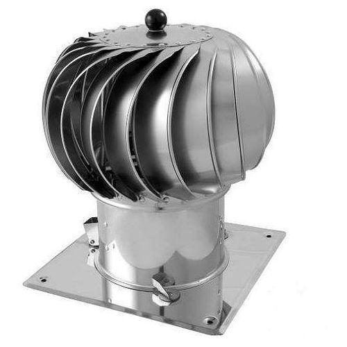 Turbowent Podstawa Kwadratowa Otwierana - Standard - 150 mm - 350 mm Średnica [mm]: 300